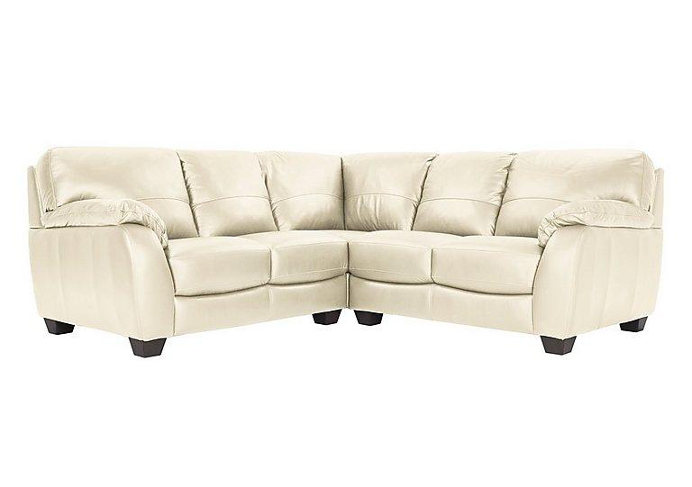 Moods Leather Corner Sofa