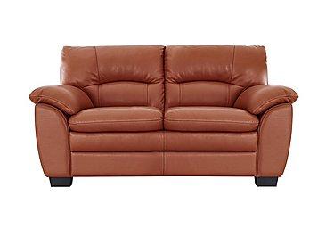 Orange leather sofas furniture village for Furniture village sofa