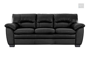 Blaze 3 Seater Leather Sofa  in {$variationvalue}  on FV