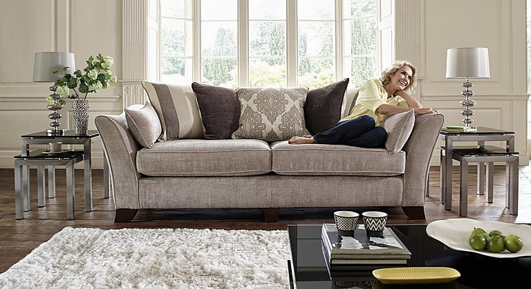 Furniture Village Annalise annalise 3 seater fabric sofa - furniture village
