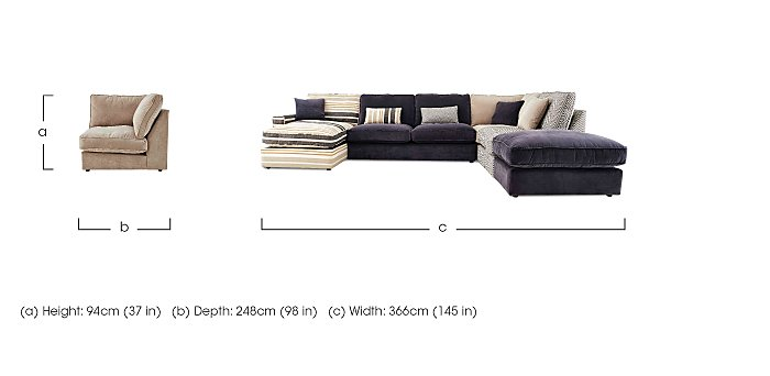Furniture Village Hennessey Sofa delighful furniture village harlequin 1 year old originally from