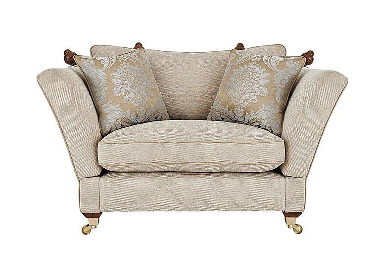 Vantage Knoll Fabric Snuggler Armchair  in {$variationvalue}  on FV