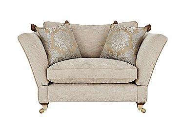 Vantage Knoll Fabric Snuggler Armchair