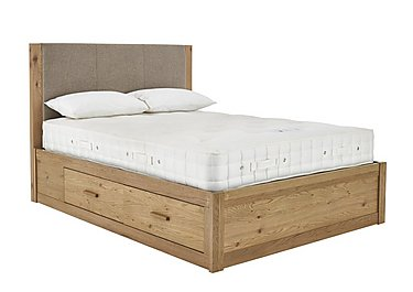 Roble Storage Bedstead