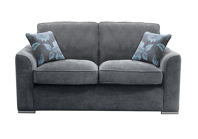 Boardwalk 3 Seater Fabric Sofa in Waffle Steel on FV