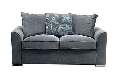 Boardwalk 3 Seater Fabric Sofa in Waffle Steel / Lily Teal on FV