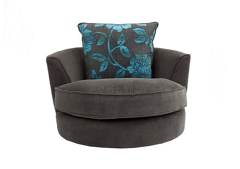 Boardwalk Fabric Swivel Armchair