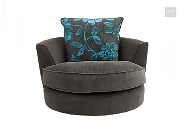 Boardwalk Fabric Swivel Armchair  in {$variationvalue}  on FV