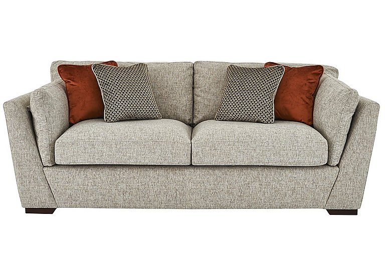 Bailey 3 seater fabric sofa furniture village for Furniture village sofa