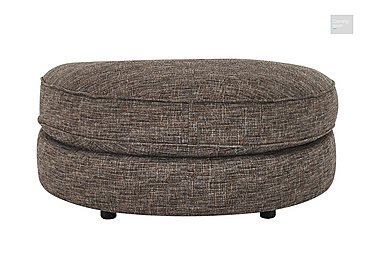 Bailey Fabric D Shaped Footstool  in {$variationvalue}  on FV