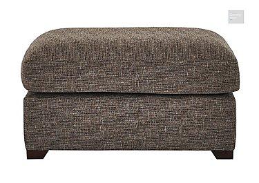 Bailey Fabric Footstool  in {$variationvalue}  on FV