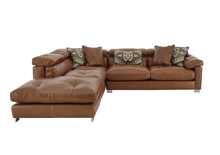 Fusion leather corner sofa furniture village for Furniture village sofa
