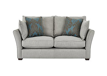 Healey 2 Seater Fabric Sofa in Heatley Slate Dark Feet Col 3 on Furniture Village