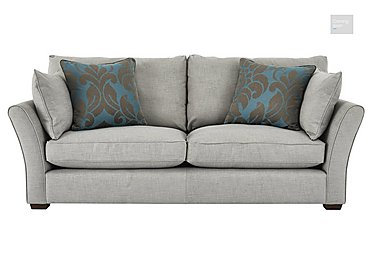 Healey 4 Seater Fabric Sofa  in {$variationvalue}  on FV