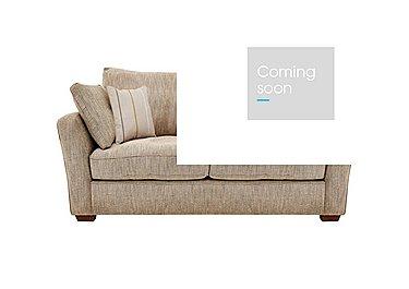 Otto 2 Seater Fabric Sofa in Earl Slate Dark Feet Col 3 on FV