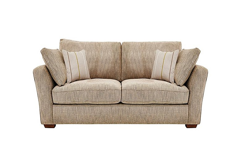 Otto 2 Seater Fabric Sofa in Earl Slate Dark Feet Col 3 on FV