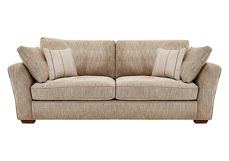 Otto 4 seater fabric sofa furniture village for Furniture village sofa