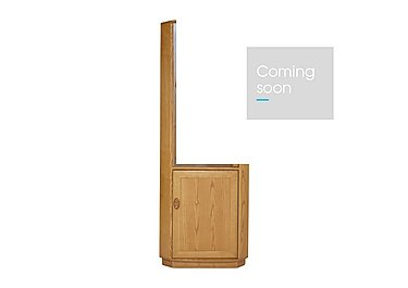 Windsor Corner Cabinet in Straw Finish (St) on FV