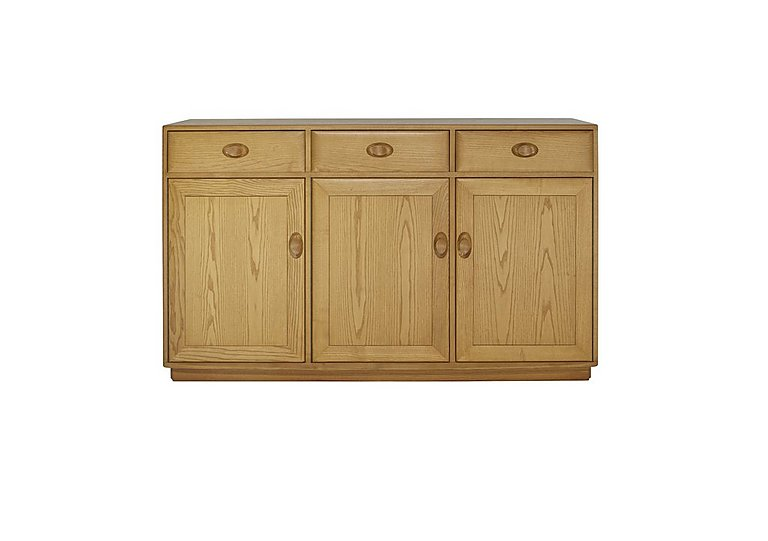 Windsor 3 Door High Sideboard
