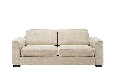 Eleanor 3 Seater Fabric Sofa in Kento Cream - Bf on Furniture Village