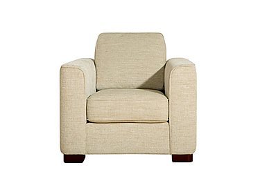 Eleanor Fabric Armchair in Kento Crema - Bf on FV