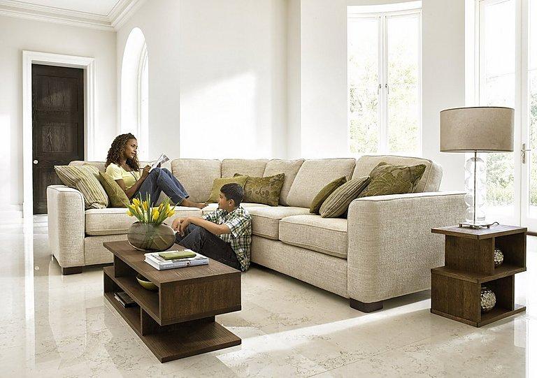 Furniture Village eleanor fabric corner sofa - furniture village