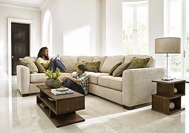 Eleanor Fabric Corner Sofa in  on FV