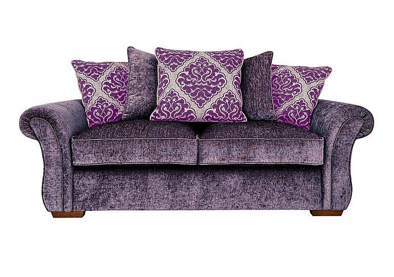 Luxor 3 Seater Fabric Sofa