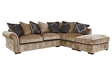 Luxor Fabric Corner Chaise
