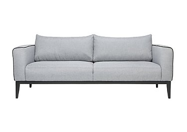 Lucas 3 Seater Fabric Sofa in Vence 276 Grey on FV