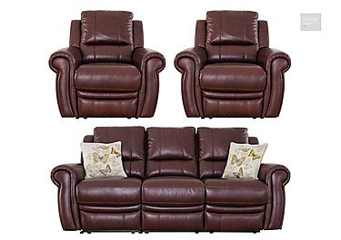 Arizona 3 Seater Sofa & 2 Recliner Armchairs  in {$variationvalue}  on FV