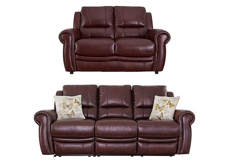 Arizona 3 & 2 Seater Leather Sofas