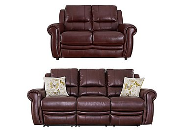 Arizona 3 & 2 Seater Leather Sofas