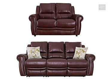 Arizona 3 & 2 Seater Leather Sofas  in {$variationvalue}  on FV