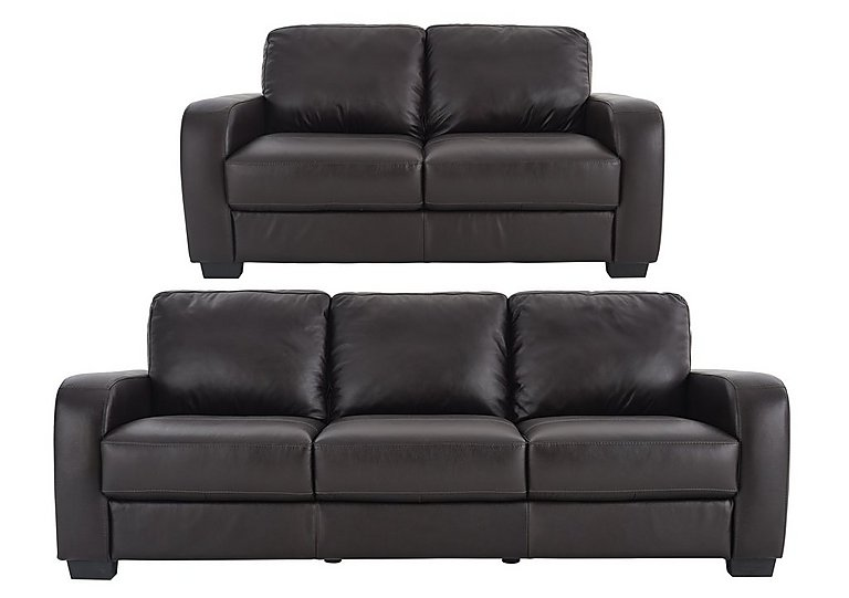 Astor 3 & 2 Seater Leather Sofas