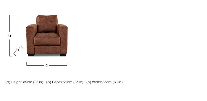 Dante Fabric 3 Seater Sofa, Armchair and Footstool in  on FV