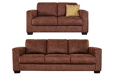 Dante 3 & 2 Seater Fabric Sofas