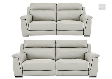 Glider 3 & 2 Seater Leather Power Recliner Sofas  in {$variationvalue}  on FV
