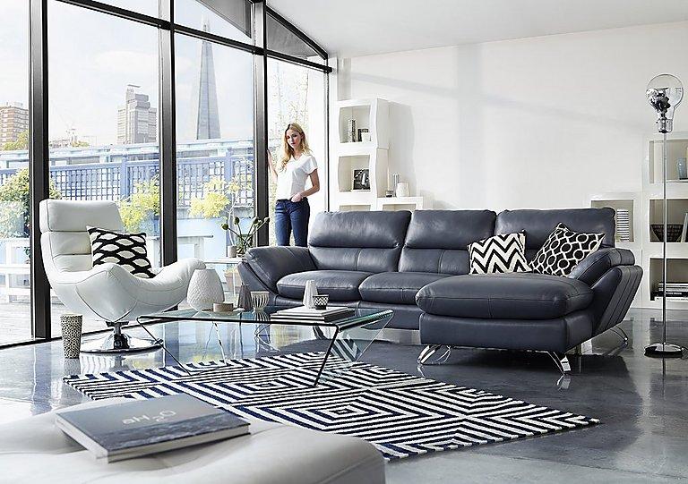 Furniture Village Guildford salvador 3 & 2 seater leather sofas - world of leather - furniture
