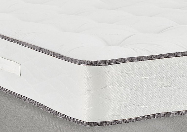 My Super Comfort Mattress in 5928 Slate Grey Trim Only on FV