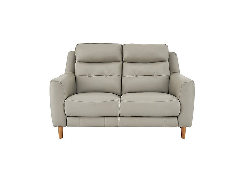 Compact Collection Bijoux 2 Seater Leather Recliner Sofa