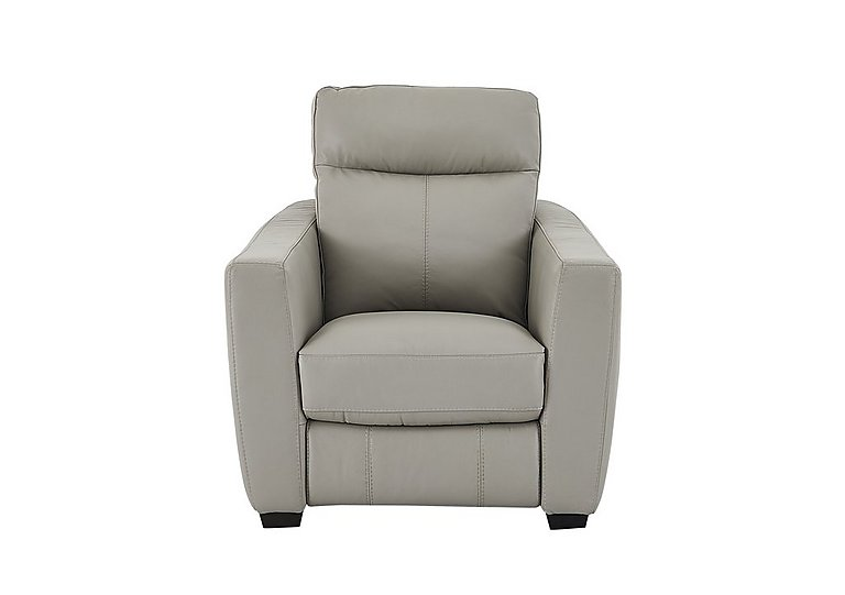 Compact Collection Midi Leather Recliner Armchair