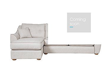 Kensal Fabric Corner Chaise in F44511l Carson Ivory on FV