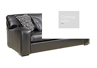 Liberty 4 Seater Leather Sofa in Tusk Nero on FV