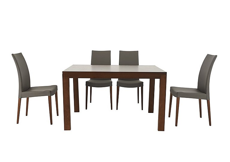 Smart Extending Dining Table with 4 Chairs