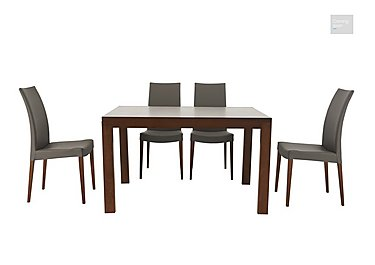 New Smart Extending Dining Table with Four Chairs  in {$variationvalue}  on FV