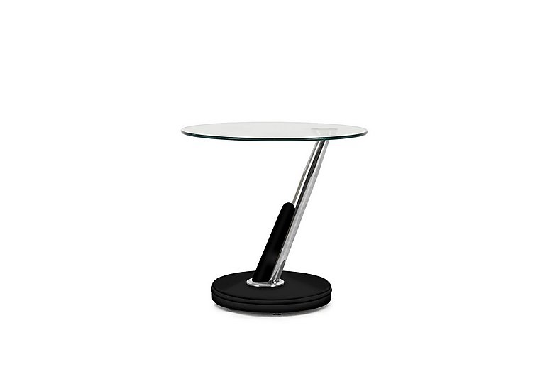 Twist Lamp Table in Black on Furniture Village