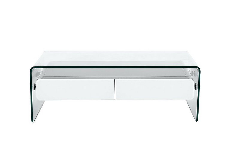 Vidrio Coffee Table in White on FV