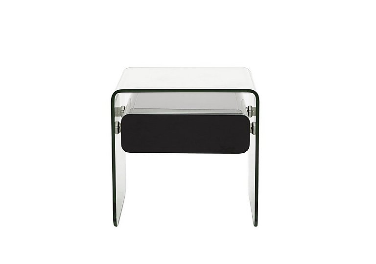 Vidrio Lamp Table in Black on FV