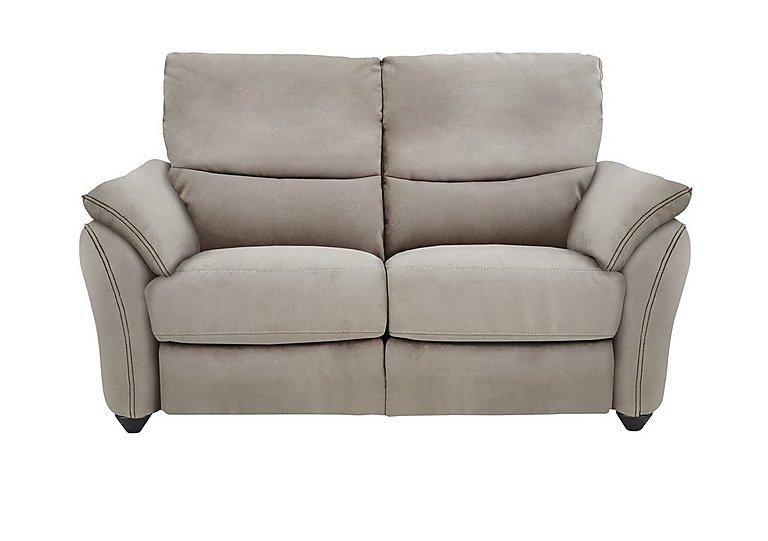 Salamander 2 Seater Fabric Recliner Sofa in Bfa-Blj-R946 Silver Grey on Furniture Village